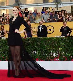 Emma Stone in Dior Couture