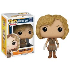 This is the Doctor Who River Song POP Vinyl Figure that's produced by the good folks over at Funko. River Song looks great in her Funko POP Vinyl style! Doctor Who fans are sure to be excited to final Pop Vinyl Figures, Funko Pop Figures, Doctor Who, Eleventh Doctor, Predator, Game Of Thrones, Tv Doctors, Pop Television, Pop Dolls