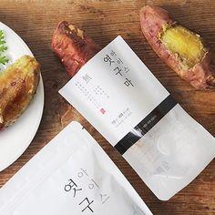 해남 꿀고구마로 만든 아이스 엿구마 Pouch Packaging, Food Packaging, Brand Packaging, Japan Package, Pumpkin Mask, Visual Communication Design, Simple Poster, Food Branding, Food Labels