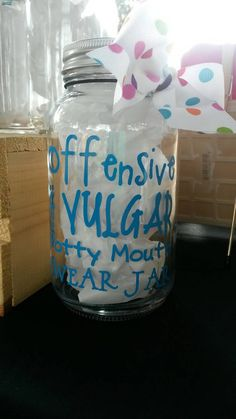 10 Swear Jar Idea Swear Jar Jar Swear