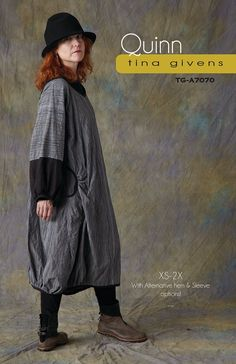 Sewing patterns by Tina Givens are beautiful, fun, elegant and unique. Easy downloads.