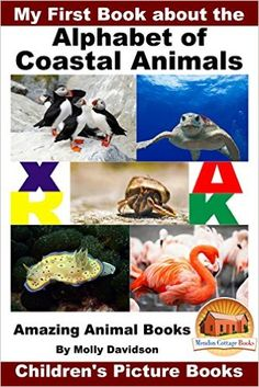 My First Book about the Alphabet of Coastal Animals - Amazing Animal Books - Children's Picture Books, Molly Davidson, John Davidson, Mendon Cottage Books - Amazon.com