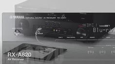 Yamaha RX-A820 7.2-Channel Network AVENTAGE AV Receiver  Electronics
