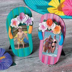 Flip Flop Picture Frames - OrientalTrading.com