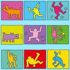 Keith Haring PDF - Basteln | Labbé