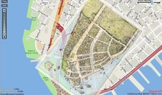 """""""New Amsterdam, overlaid onto present-day Downtown Manhattan. 400 years worth of landfill. Wall Street News, Street Run, New York City Ny, Map Of New York, Manhattan Map, Lower Manhattan, Amsterdam Map, Map Maker, American History"""