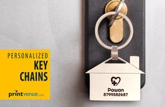Keep your keys handy with personalized key chains ! Order Link -->> http://www.printvenue.com/c/key-chains?utm_source=Pinterest&utm_medium=Post&utm_campaign=Keychains_12Feb14