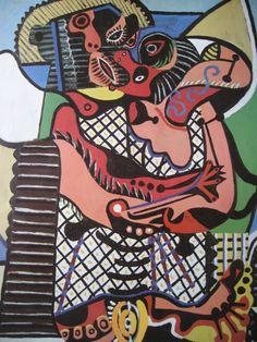 Le Baiser, Pablo Picasso.
