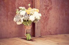 I like the gray flowers