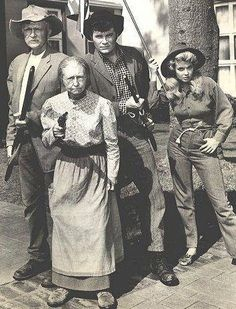 Beverly Hillbillies...hey Grannie, that there pistol of yrs....Registered?