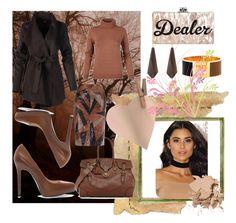 """&Dealer&"" by selmamehic ❤ liked on Polyvore featuring Ralph Lauren, Zara, Fendi, Kenneth Jay Lane and Bobbi Brown Cosmetics"