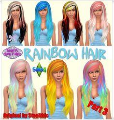 Annett's Sims 4 Welt: Rainbow Hair - Part 3 - Original by Stealthic