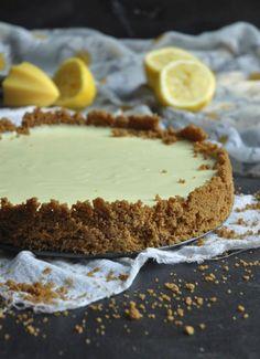 Lemon Yogurt Fridge tart - My Easy Cooking Cold Desserts, Easy Desserts, Delicious Desserts, Dessert Recipes, Yummy Food, Healthy Fridge, Fridge Cake, Greek Yogurt Recipes, Lemon Yogurt