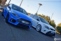 Ford Focus RS 2009 White Edition 1