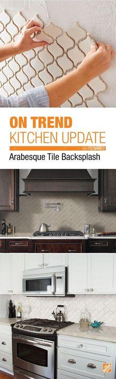 Backsplash - Lantern / Arabesque - Tile - http://centophobe.com/backsplash-lantern-arabesque-tile/ -