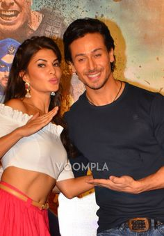 A Flying Jatt jodi Jacqueline Fernandez and Tiger Shroff! via Voompla.com