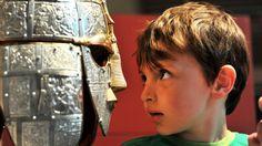 Sutton Hoo Boy and Helmet