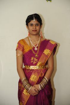 Bride With Vanki and Vaddanam