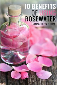 10 Beauty Benefits Of Using Rosewater To Get Healthy Glowing Skin.