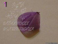 Домашняя волшебница - Мастер-класс МК Лепесток канзаши (автор poteryashka)