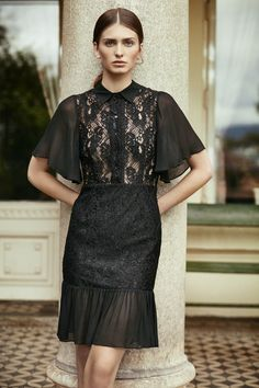 Epilogue Dress Black : shop at velvet