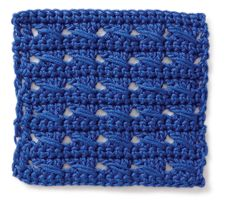 Crochet Stitch: Crochet Cable
