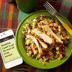 Quinoa Salad with Chicken #recipe