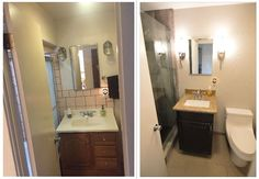 Pin By Classic Kitchens Etc On Corona CA Transitional Guest - Bathroom remodel ontario ca