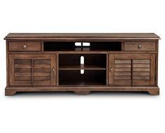 TV Stands-Savannah TV Stand-Antique appeal with contemporary design