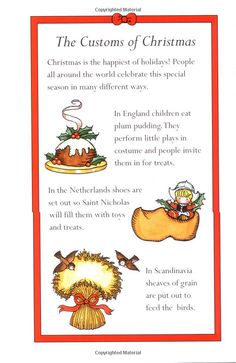"""Christmas celebrated in other countries.""""A Christmas Sampler"""" by Joan Walsh Anglund"""