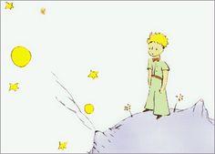"""""""Si alguien ama a una flor de la que sólo existe más que un ejemplar entre los millones y millones de estrellas, es bastante para que sea feliz cuando mira a las estrellas."""""""