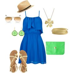 summer love., created by carrie-philipp on Polyvore