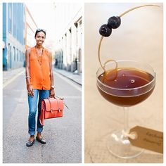With the rich, bright colours Sabrina Brown is wearing in our latest #WorldClassStyle photo, it's no surprise that she caught the eye of photographer @DanRubin. Those colours also inspired our World Class Brand Ambassador Max La Rocca to mix an unusual cocktail which compliments her look perfectly. Enter the Kentucky Memories.  Kentucky Memories: 50ml BULLEIT Bourbon 20ml Sweet Vermouth 10ml Cherry Heering Liqueur ½ tsp. Absinthe Garnish with black Maraschino cherries and serve in a vintage…