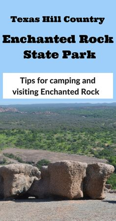 Enchanted Rock State Park is a beautiful pink granite rock formation in the Texas Hill Country. See our tips and experience for primitive backpack camping with our kids there!