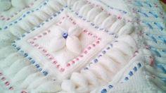 Yeni Örgü Bebek Battaniye Modelleri