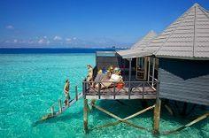 Water Villas at Komandoo Island Resort