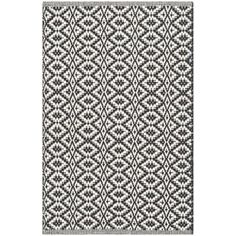 Shop for Safavieh Hand-Woven Montauk Ivory/ Black Cotton Rug (2'3 x 3'9). Free Shipping on orders over $45 at Overstock.com - Your Online Home Decor Outlet Store! Get 5% in rewards with Club O! - 17555148