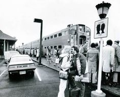In 1979, Deerfield, IL, installed a sign near the Milwaukee Road train depot to prevent commuters from kissing their spouses goodbye in the drop-off lane. The sign became world famous.  In 2013, designer Kate Spade's fashion company inquired about licensing Deerfield's copyright for the image.