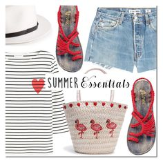 """Plaka sandals"" by mada-malureanu ❤ liked on Polyvore featuring RE/DONE, Chinti and Parker, rag & bone, plakasandals and plaka"