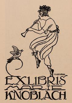ex libris ! Ex Libris, Walter Crane, Graphic Illustration, Graphic Art, Art Nouveau, Edmund Dulac, The Book Thief, Art Deco Period, Typography Prints