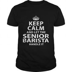 SENIOR-BARISTA - #tshirt outfit #harry potter sweatshirt. FASTER => https://www.sunfrog.com/LifeStyle/SENIOR-BARISTA-119132539-Black-Guys.html?60505