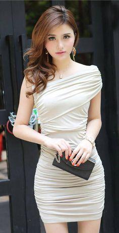 Bodycon Dress // So elegant and so beautiful ! http://www.dressve.com/shop-10498770.html