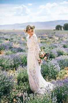 Bohemian beauty! | Wedding Dress -   Celeste & Andrew : Tessa Barton Photography