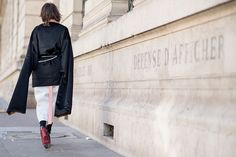 ELLE.com photographer Tyler Joe captures the chicest street style moments from Paris Fashion Week.