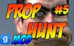 #GarrySMod Prop Hunt #5 Funny Moments - Most Intense Round Ever! Что? Ку...