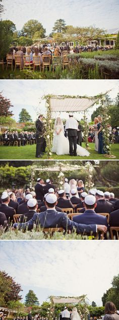 An Anglo-American Enzoani bride for an English country garden Jewish wedding at…
