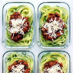 Zucchini Noodles with Quick Turkey Bolognese Forgo regular pasta (and most of the carbs) for spiralized zucchini noodles in these make-ahead meals. The zoodles quickly turn tender-crisp as the veggie-packed Bolognese warms in the microwave. Low Carb Meal Plan, Low Carb Lunch, Healthy Meal Prep, Healthy Cooking, Healthy Dinner Recipes, Healthy Snacks, Healthy Eating, Lunch Recipes, Cooking Beets