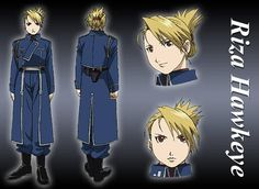 riza hawkeye (Not only is she a great character, but Riza = Lisa :D )