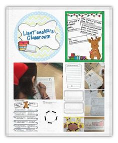 Have your students learn about circular tales, create mini-books and a reindeer craft. Bulletin board idea included!