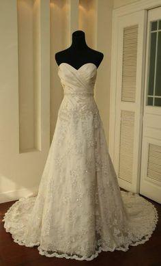 2012 New White Ivory Wedding Dress